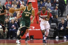 NBA: Milwaukee Bucks at Washington Wizards